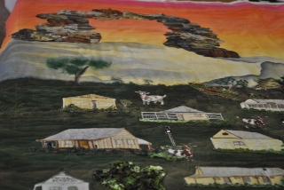 Tambo quilt 1st panel