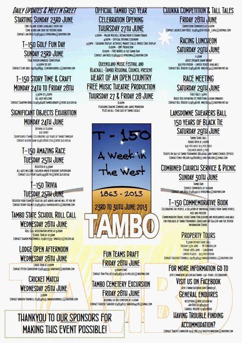 Tambo celebrations